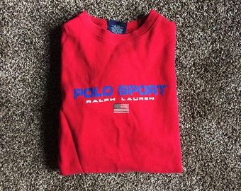 Vintage Polo Sport Sweater