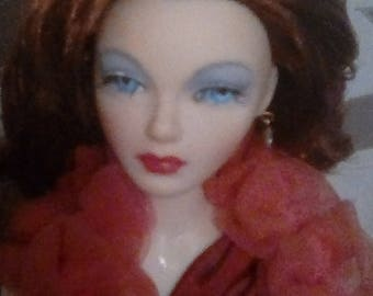 1995 Gene Marshall Doll in Red Venus Mel Odom
