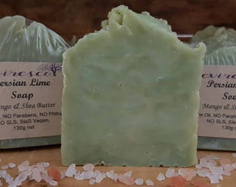 Persian Lime Soap ~ With Mango Butter & Shea Butter