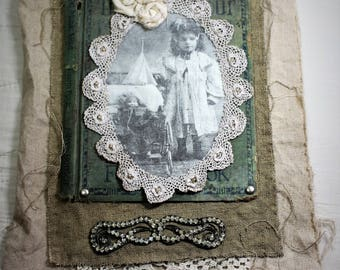 Mixed Media Collage ~ Wall Hanging ~ Vintage Collage ~ Handmade ~ Altered Art ~ Assemblage