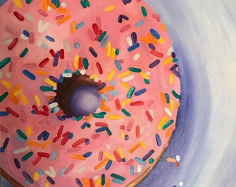 Sprinkled Pink (Donut)