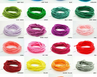 3MM Polyester Soutache Braid Cord String Beading Sewing Quilting Trimming 20 Yards