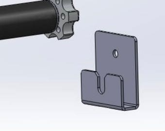 Mount- Wall Support Bracket