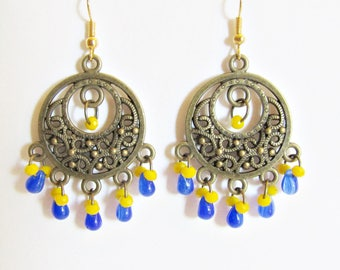 Creole earrings exotic fantasies