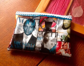Makeup Kit or any decor Vogue magazine Tote