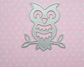 die cut OWL. Die cut