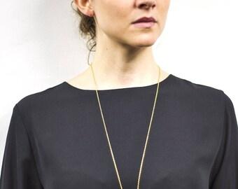 Athena Golden elegant Aventurine stone necklace