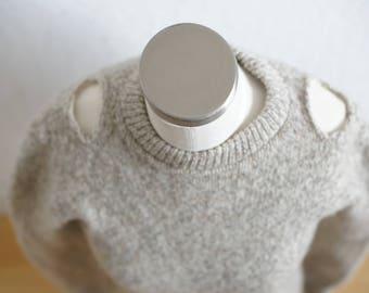 Knit Cold Shoulder Sweater