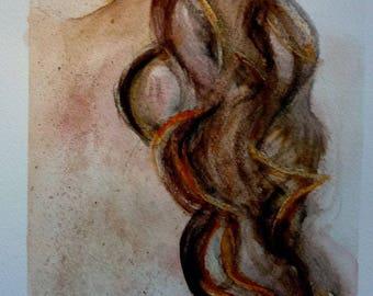 watercolor spot freckles