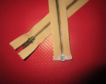 beige 63cm separable metal closure