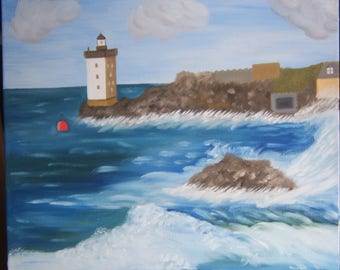 painted with oil called conquet