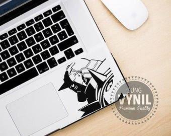 Fullmetal Alchemist Alphonse Elric Armor Decal Sticker for  consoles, computers, tablets, laptops, cellphones, car window