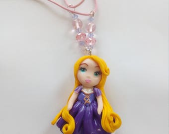 """my little Princess to the hair"" long pendant"