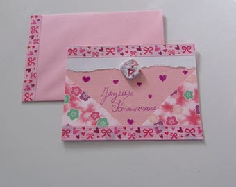 Matching envelope and birthday card