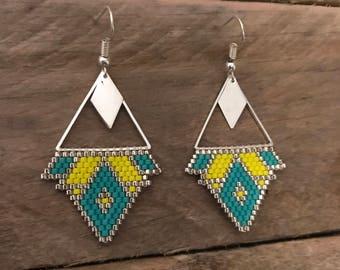 Earrings silver •SANA•