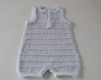 Hand knitted baby combination