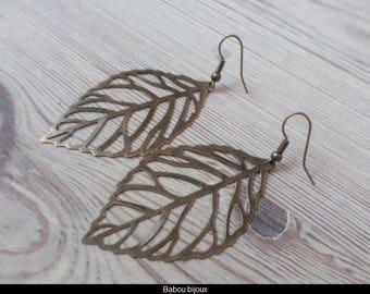 Earrings fancy fine paper