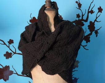 great black shawl