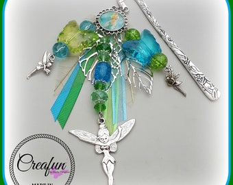 large bookmark inspired by the green fairy bells
