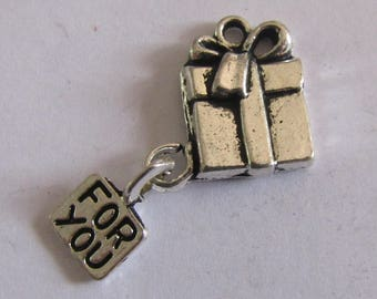 2 silver charms gift for you
