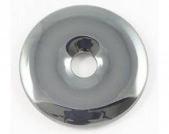 Stone Hematite Donut 5 cm in diameter