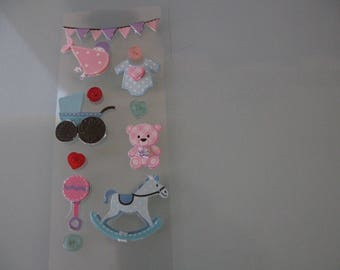 stickers stickers scrapbooking birth