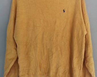 Vintage Polo by Polo Ground Sweatshirt Pull Over Urban Fashion Size L