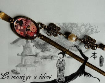 "Beautiful hair stick collection""jewelry in my hair""bronze metal. UNIT PRICE"
