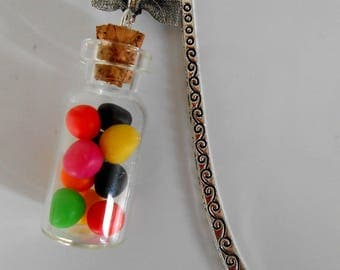 Candy colored bookmark