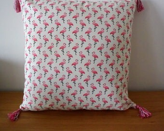 Flamingo Cushion cover pattern