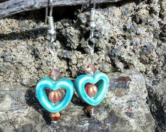 These earrings my sweetheart