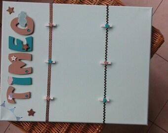 Custom pastel picture holder