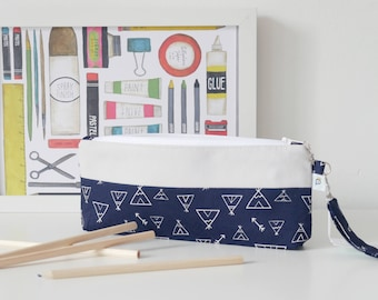 TO ORDER. Kit school light Pearl gray and blue teepee night