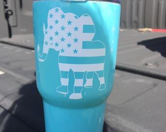 Republican Elephant Decals