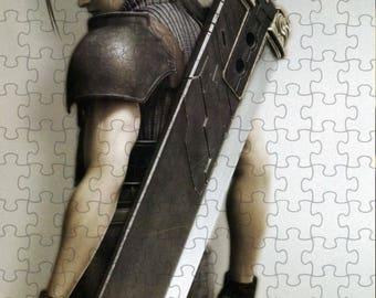 Final Fantasy VII 7 Advent Children Zack A4 Puzzle - 120 Pieces