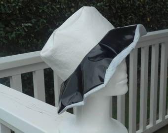 woman linen rain ' comfortable eva vinyl and cotton spring summer 2017