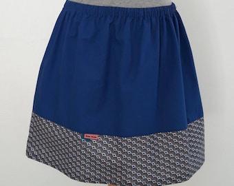 Lightweight cotton with T-34/36 elasticated waist skirt