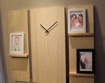 Large modern clock Etsy