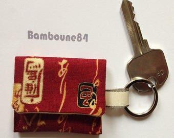 Key Pocket token in fabric