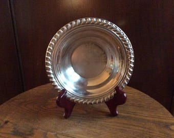 Wm Rogers 848 Silver Plate Dish