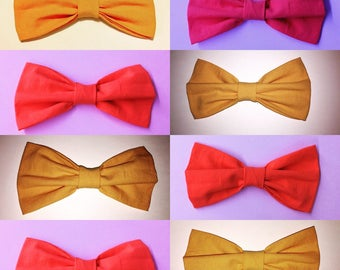 Bow tie colors
