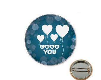 Love wedding badge - Badge 25 mm