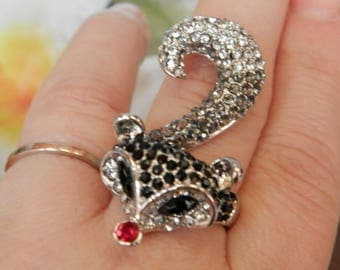 the cunning Fox forest (ring for women)