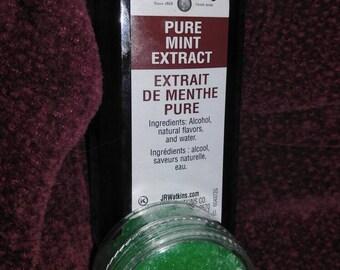 Mint lip scrub