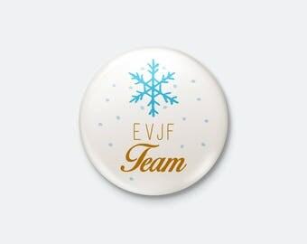 Winter wedding - bachelorette party Team badge