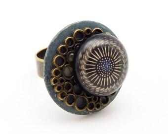 Small black NEBULA ring