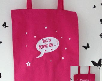 requires tote bag for godmother, godmother