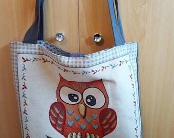 OWL tote bag tote bag