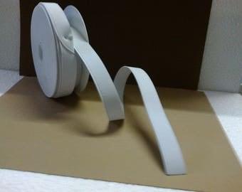 2cm wide white elastic band