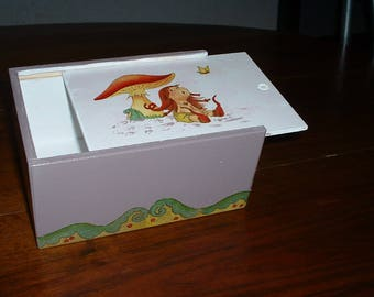 """BOX closure pencil box """"elves"""""""